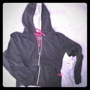 Avenue Zip Front Hooded Jacket NWT